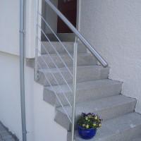 Aussengeländer einer Treppe