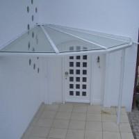 Haustürüberdachung